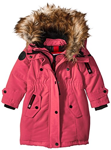 Hooded Outerwear Parka Natural More Girls' Available Styles Gear Weather Jacket cw046 Little fuchsia Canada Hooded xRqn6zI4PR