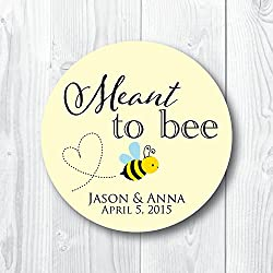 Meant to Bee Favor Labels