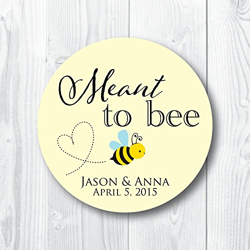 Meant to Bee Favor Labels ()