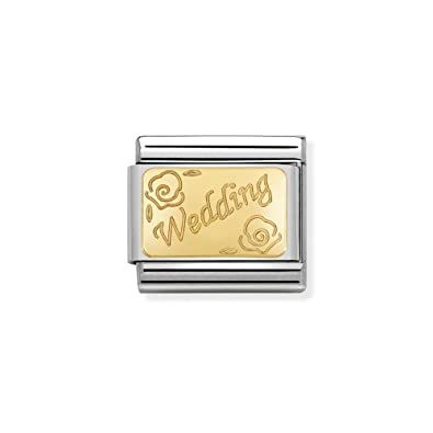 Nomination Women Stainless Steel Bead Charm - 030121/45 AZwfimRSse