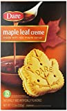 Dare Cookies, Maple Leaf Creme (Pack of 12)