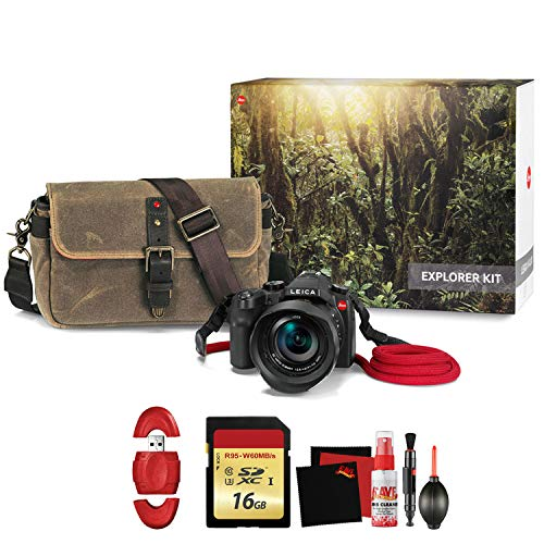 (Leica V-LUX (Typ 114) Digital Camera Explorer Kit with Memory Card and Cleaning Kit)