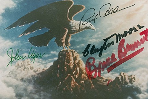 Republic Pictures - Photograph Signed with (Sidekicks In Disney Movies)