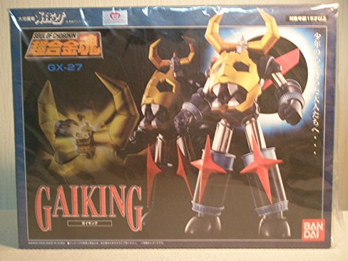 GX-27 Gaiking Soul of Chogokin Metal Figure [Toy] by for sale  Delivered anywhere in USA