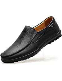Men's Casual Leather Fashion Slip-on Loafers Shoes