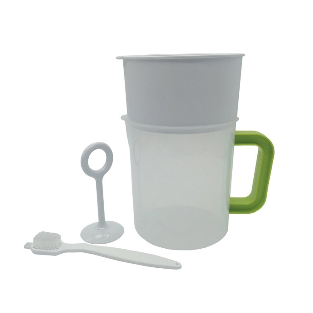 bestonzon 4pcs 1.5L leche Milk Maker Filtro Set- Filtro de acero inoxidable - soy milk Strainer - reutilizable: Amazon.es: Hogar