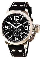 TW Steel Men's TW6 Canteen Black Dial Chronograph Watch
