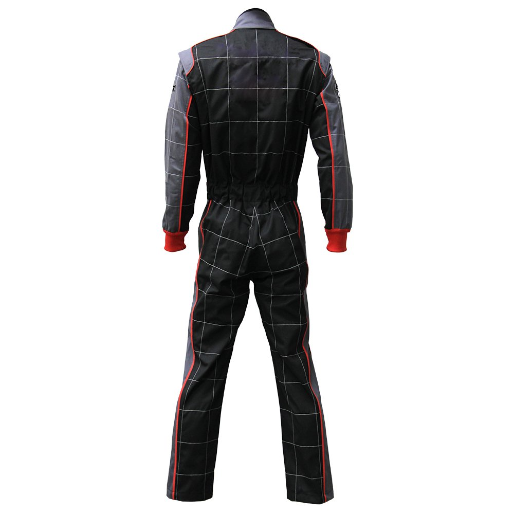 jxhracing RB-CR002 One-piece One Layer Auto Go Karts Racing Suit-X Large by jxhracing (Image #2)