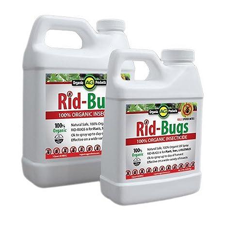amazon com rid bugs organic insecticide 1 quart fertilizers