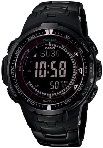Casio PROTREK Black Titan Limited
