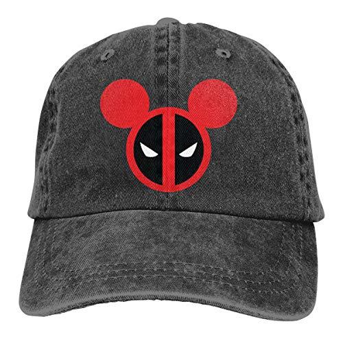Dead Mouse Logo Summer Cool Heat Shield Unisex Adult Cowboy Hat -