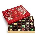 Godiva Chocolatier Assorted Chocolate Holiday Gift Box, 32 Piece