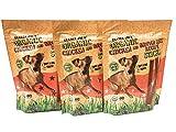 Trader Joe's Puppy Dog Treats Organic Chicken Brown Rice Recipe Sticks Wheat Free 5 oz, 3 Bags