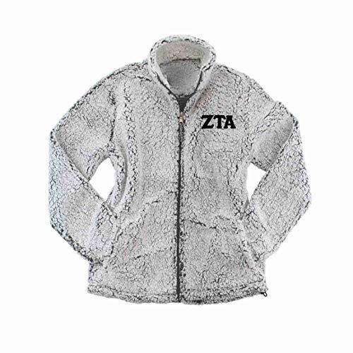 md sorority gifts zeta tau alpha sherpa jacket i full zip