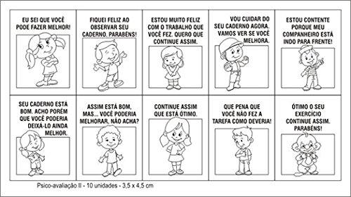 Carimbo Psico Avaliação II Carlu Brinquedos