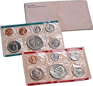 1973 P&D PD&S US Mint Uncirculated Coin Mint Set Sealed Unicirculated … Unicirculated