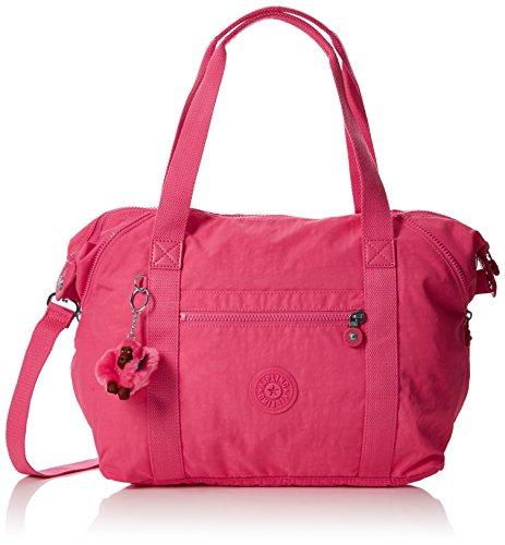 Kipling Art, Bolso Bandolera para Mujer, 15x24x45 cm (W x H x L) Rosa (City Pink)