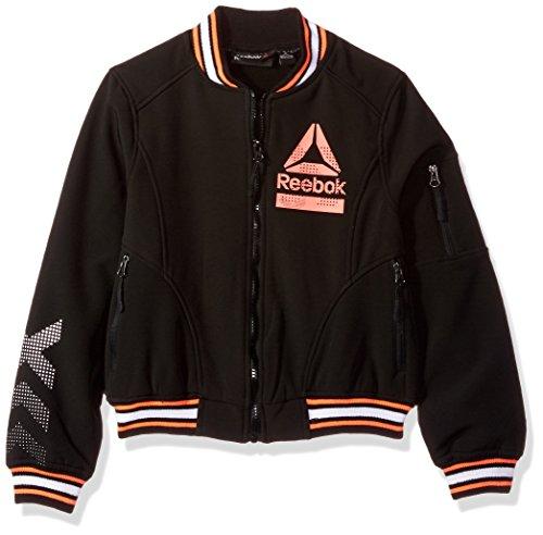 - Reebok Girls' Active Outerwear Jacket,Bomber Black,10/12
