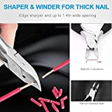 4PCS Toe Nail Clipper for Ingrown or Thick