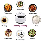 Multi Use Pressure Cooker, Function Programmable for Slow Cooker, Rice Cooker,Soup Maker, Yogurt Maker, Cake Maker, Roast Cooker, Nonstick Pot
