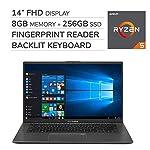 ASUS VivoBook F412DA 2019 Premium 14'' FHD Laptop Notebook Computer, 4-Core AMD Ryzen 5-3500U 2.0GHz, 8 GB RAM, 256GB SSD, No DVD, Backlit Keyboard, Wi-Fi, Bluetooth, Webcam, HDMI, Windows 10 Home 3