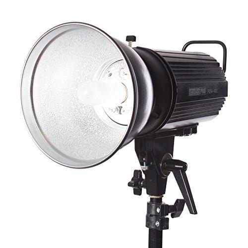 Fovitec StudioPRO SDX-400 Photography Studio Monolight, Professional Studio Strobe Flash Lighting Head 400 Watts/s -