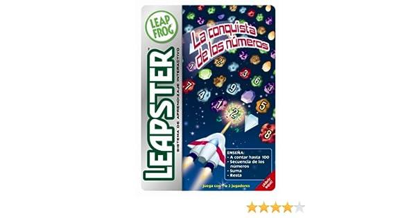 Amazon.com: LeapFrog Leapster® Game: La Conquista de los Números: Toys & Games