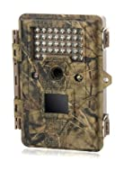 Coleman CHD500 Waterproof 12MP Digital and HD Video Outdoor IR Trail/Game Camera Video Camera (Camouflage)