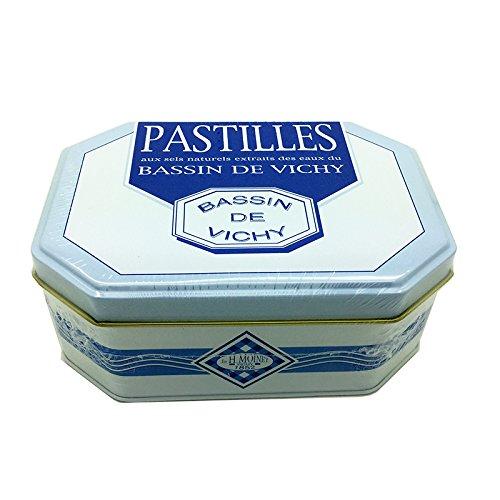 Pastillas de Vichy metal del rectángulo de la caja 300G: Amazon.es: Alimentación y bebidas