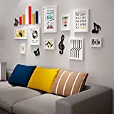WUXK The sofa in the living room wall children's bedroom photo wall chin room decorated with solid wood photo wall murals creative C