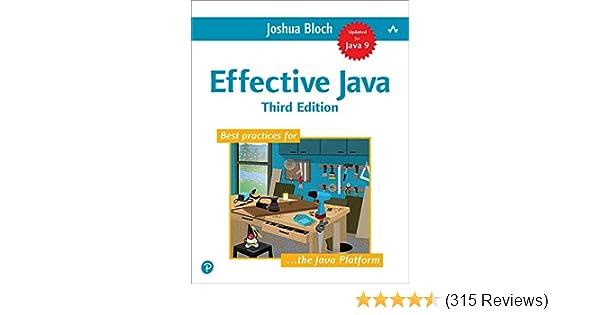Effective Java 3rd Edition