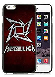 iPhone 6 Plus 5.5 inch Band Metallica Black Screen TPU Phone Case Newest and Popular Cover
