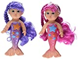 Best Dolls For 1 Year Old Girls - Toysmith Bathtime Mermaid Doll (2-Pack) Review