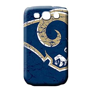 samsung galaxy s3 Shock-dirt Back New Fashion Cases phone carrying shells st. louis rams nfl football