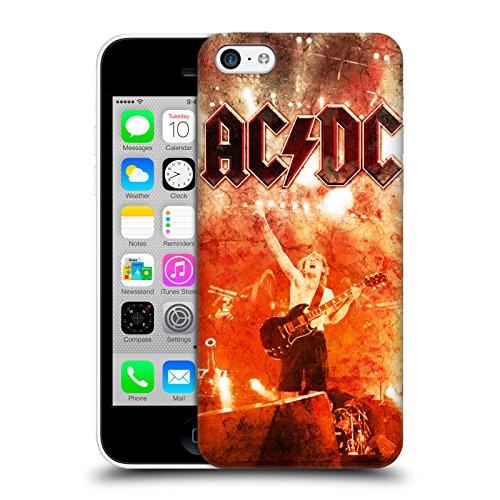 Officiel AC/DC ACDC En Direct Au Río De La Plata Art D'album Étui Coque D'Arrière Rigide Pour Apple iPhone 5c