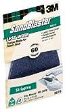 3M SandBlaster 9670 60-Grit Mouse Sandpaper Sheets, 4-Pack