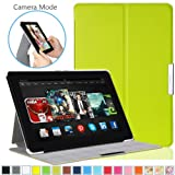 Kindle Fire HDX 8.9 Case - MoKo Ultra Slim Lightweight Smart-shell Stand Case for Kindle Fire HDX 8.9 Inch 2014 Generation and 2013 Gen Tablet, GREEN