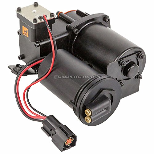 Air Suspension Compressor For Ford Expedition & Lincoln Navigator - BuyAutoParts 78-10037AN ()