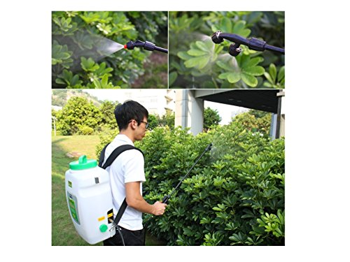 Knapsack Agricultural Electric Sprayer SeaFlo Model - 16 liter with 12-volt rechargeable battery - BC-3865 by Five Oceans (Image #4)