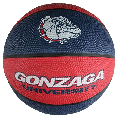 Gonzaga Bulldogs Mini Rubber Basketball
