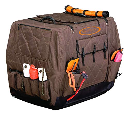 - Mud River Dixie Kennel Cover, Brown, Large Standard