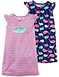 Girls 2 Pk Gown Poly 373g076