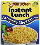 Maruchan Instant Lunch, Jalapeno Cheddar, 2.25-Ounce Packages (Pack of 12)