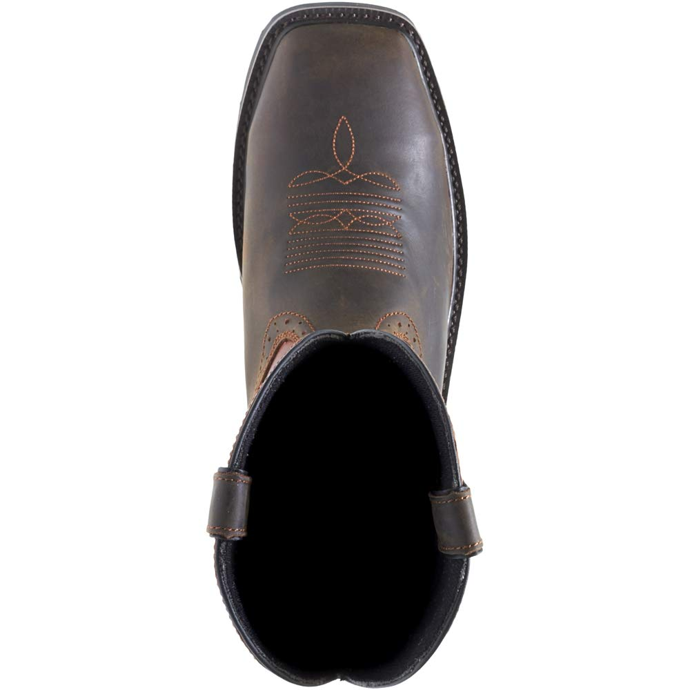 Wolverine Men's Rancher Wpf Soft Toe Wellington Work Boot,Rust/Brown,10 D US by Wolverine (Image #3)