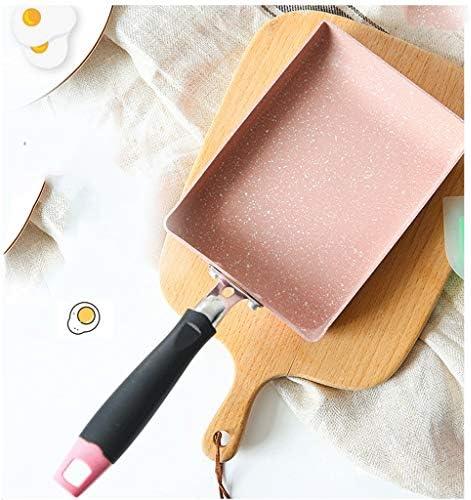 XXDTG Casserole en Alliage d'aluminium Pan Maker antiadhésif Fry Poêle Poêle à Oeufs crêpes Pot Casseroles Rose