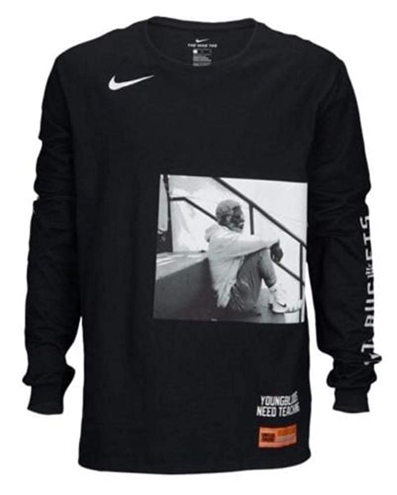 new product 296dd ad569 Nike Kyrie Irving Uncle Drew Long Sleeve T-Shirt Size: XL ...