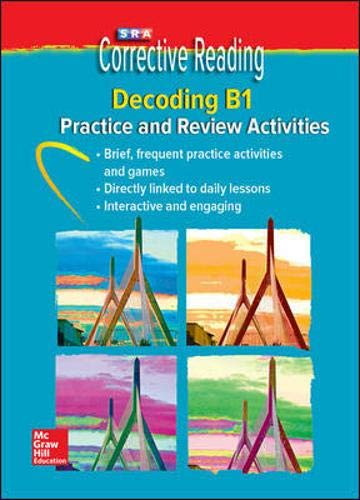 Corrective Reading Decoding Level B1, Student Practice CD Package (CORRECTIVE READING DECODING SERIES)