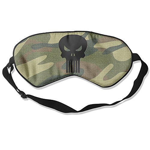 [BUOIE Sleeping Mask The Original Punisher Logo Eye Bag] (Daredevil Costumes Replica)