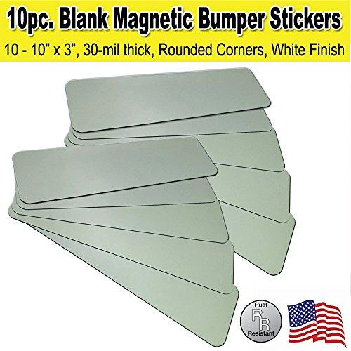 Bumper Sticker Car Magnets (Inkjet Bumper Stickers)