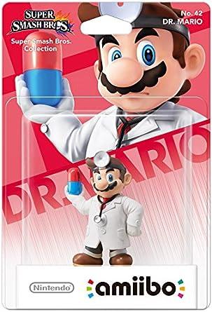 Nintendo Dr. Mario - Figuras de acción y de colección (Collectible Figure, Multicolor)